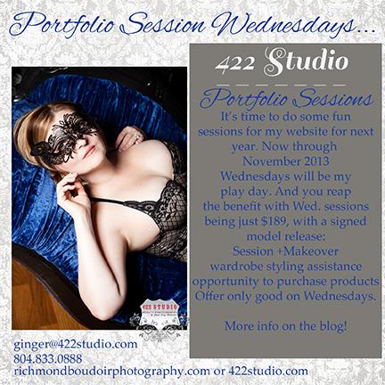 Portfolio Wednesdays at 422 Studio