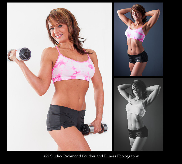 Richmond Boudoir and Fitness Photography