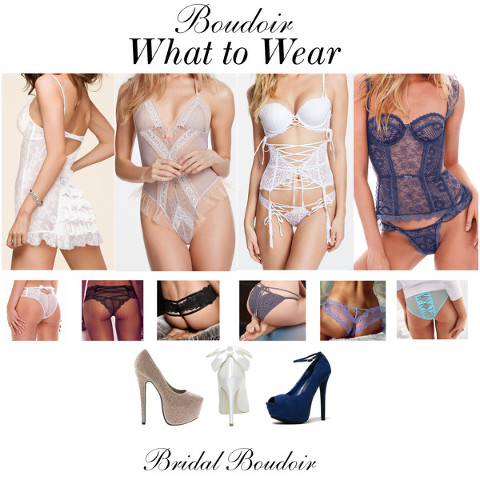 what to wear for my bridal boudoir photography session