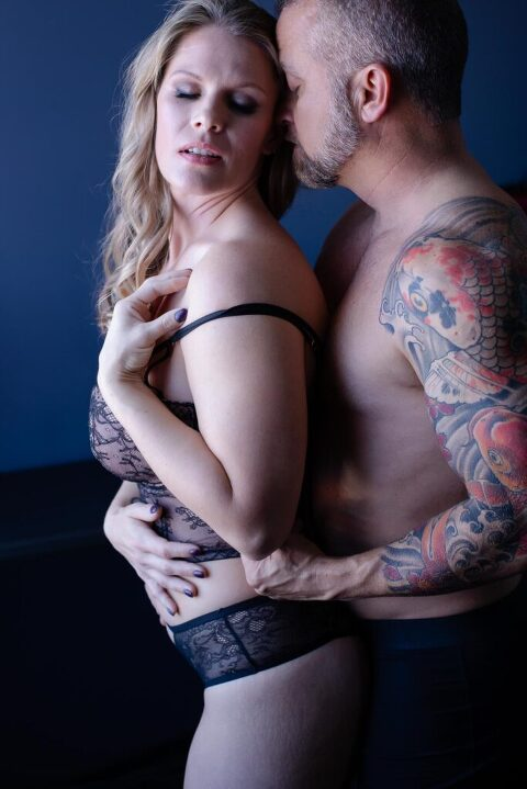 A couples Richmond Boudoir Experience